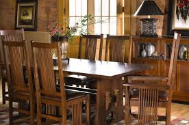 Stickley Dining Traditions At Home - Mission dining room table