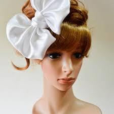 large hair bows shop big satin hair bow on wanelo