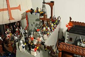 zara siege a d 1202 crusaders siege of zara a lego creation by marko