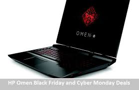 hp omen black friday and cyber monday laptop deals 2017 save 300