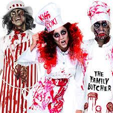 Butcher Halloween Costume Zombie Kitchen Costumes Free Blood Adults Halloween Butcher Chef