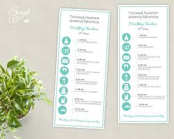 simple wedding program exles wedding timeline template 35 free word excel pdf psd vector