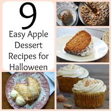 9 easy apple dessert recipes for halloween favesouthernrecipes com