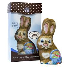 easter bunny candy milk chocolate easter bunny by thompson candy co