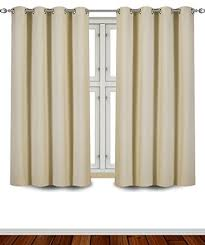 Curtains With Rings At Top Drape Curtains Amazon Com