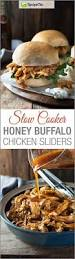 slow cooker pulled bbq chicken sliders super easy family