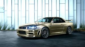r34 nissan skyline r34 gtr ps4wallpapers com