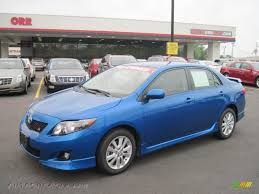2010 toyota corolla s blue 2010 toyota corolla s in blue streak metallic 313365 autos of