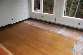 plywood for a screened porch floor
