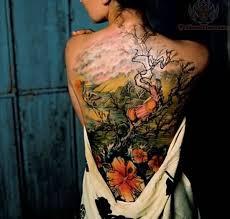 full back nice hibiscus flower tattoo for golfian com