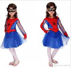 Buy Halloween Costumes Kids Halloween Costume Cartoon Spider Woman Cosplay Animated Children