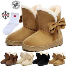 s boots with fur s winter warm suede ankle boots fur thicken ski flats