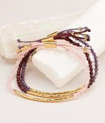 bracelet sets glastonbury power gemstone silver bracelet set of 5