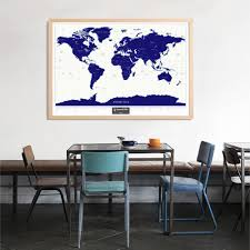 Vacation Home Decor by Aliexpress Com Buy Night Luminous Scratch Map Fluorescent