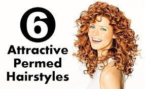 permed hairstyles 6 attractive permed hairstyles style presso