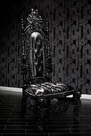 18 best love it dark decor throw back images on pinterest home black lion throne chair with pony boy upholstery and swarovski crystals