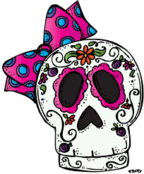 day of the dead skull clipart 44