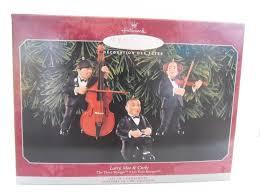 hallmark keepsake ornament the three stooges musicians