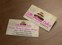 Fun Business Card Ideas 19 Modern Personable Bakery Business Card Designs For A Bakery