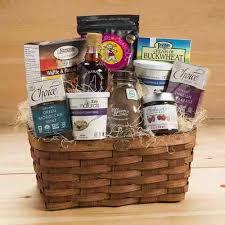 breakfast gift baskets premium breakfast gift basket gluten free