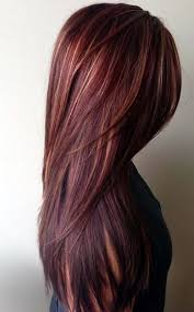 hombre style hair color for 46 year old women 46 totally catchy burgundy hair color ideas with highlights 2017