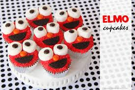 elmo cupcakes you know you want one make it and love it