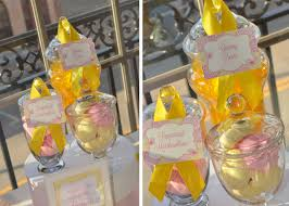 pink and yellow baby shower u2013 cw distinctive designs