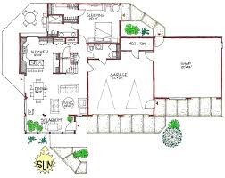 efficient floor plans prairie space efficient open designed solar home