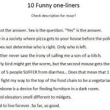 best 25 one liners ideas on one liner epic one