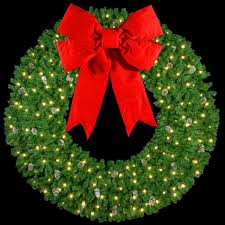 battery operated lighted christmas bows artificial christmas wreaths 10 3 d wreath with 60 velvet red