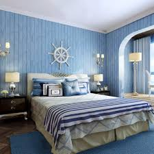 decorative wall covers promotion shop for promotional decorative 3d wall murals wallpaper simple non woven wallpaper mediterranean vertical stripes retro wood room decor wallpaper wall covering