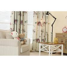 Nursery Curtains Sale And Purple Animal Print Polyester Nursery Curtains On Sale