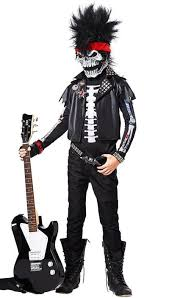 Boys Halloween Costume Dead Man Rockin U0027 Boys Costume Rockstar Kids Halloween Costume