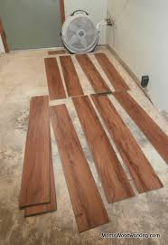 vinyl planks flooring installation in a few easy steps yes you