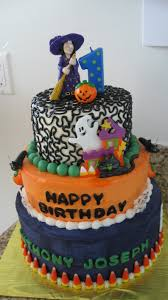 Halloween Themed 1st Birthday Party by Halloween Themed Birthday Cakes U2013 Festival Collections