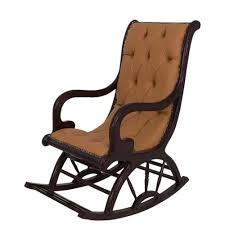 art home upholstered rocking chair brown buy online jumia egypt