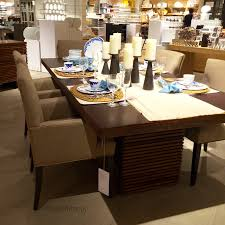 crate and barrel dining room tables dining set round kitchen table and chairs crate and barrel