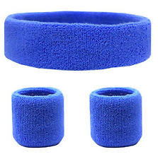 sweat bands cotton blend running wristband exercise sweatbands ebay