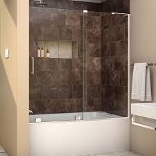 Mirage Shower Doors Shower Shower Dreamline Mirage X In To Semi Frameless Sliding