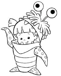 coloring page monsters inc monsters inc coloring pages monsters inc boo coloring pages monster