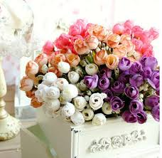 wedding flowers gift free shipping 4pc s beautiful roses wedding bouquet