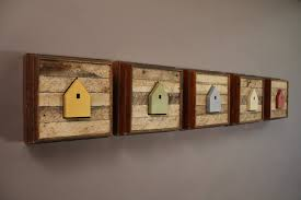 square wood wall decor wall design wooden wall square yellow green blue