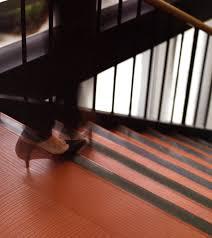 new anti slip grit tape for safer vinyl and rubber stair treads
