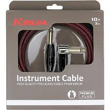 kirlin premium plus straight to right angle instrument cable