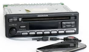 honda accord 1997 radio am fm cd player w aux input on pigtail
