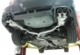 nissan 370z quad exhaust psp ext 347br quad tip cat back exhaust brushed 11 12 subaru sedan