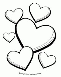 printable heart coloring pages intended to motivate in coloring