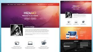 homepage designen design a hizamo portfolio website in photoshop photoshop