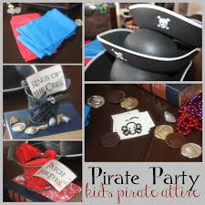 just sweet and simple kids pirate party