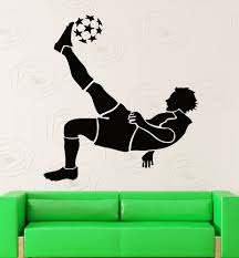 sports wall decals uk color the walls of your house sports wall decals uk wall stickers vinyl decal fifa soccer ball player sport decor for